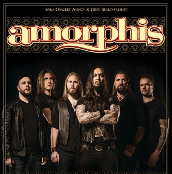 Концерт Amorphis: 30-летие группы