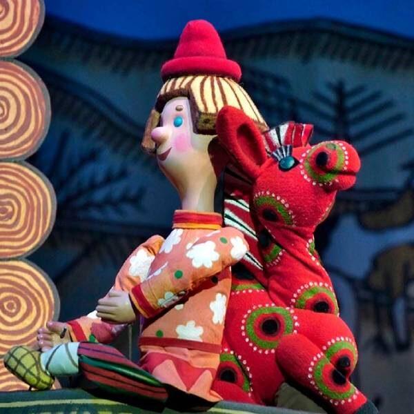 Спектакль «Конек-горбунок» в Театре кукол Образцова