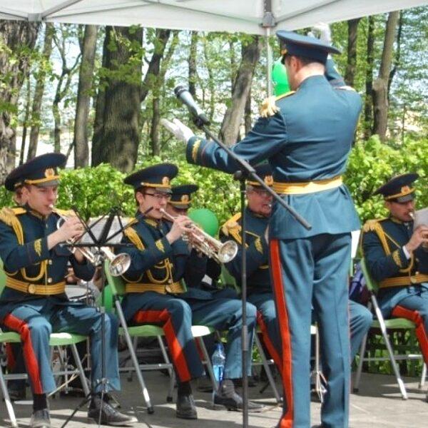 День Победы в Летнем саду