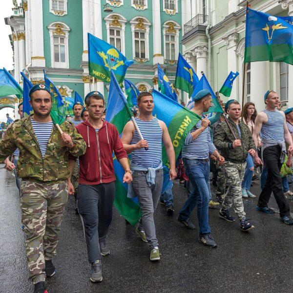 День ВДВ на Дворцовой площади