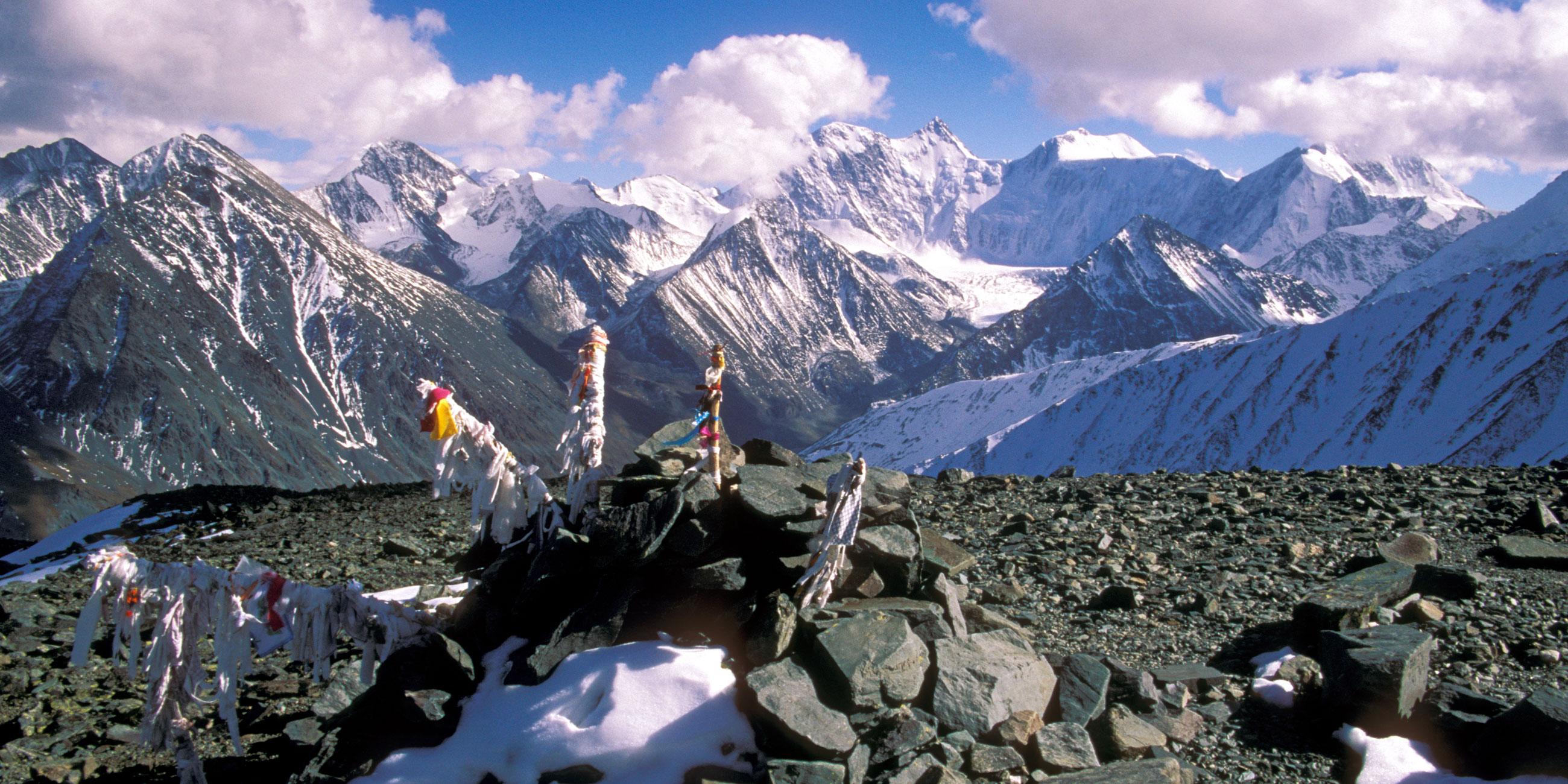 Гора Белуха Алтай