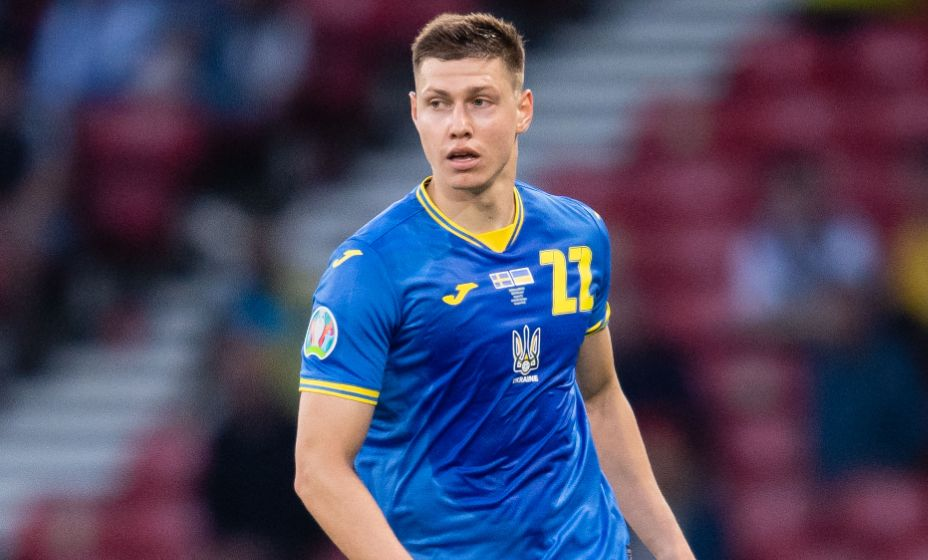 Защитник сборной Украины Николай Матвиенко рассказал, кому команда посвятила победу в 1/8 финала Евро. Фото: Global Look Press