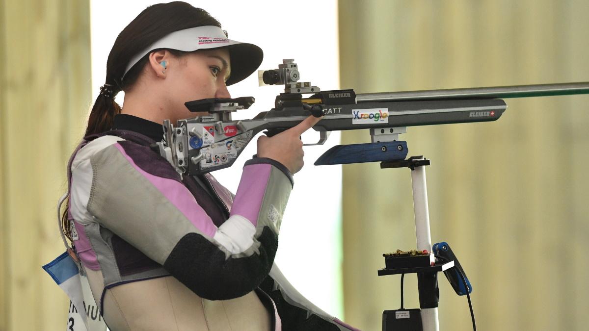 Юлия Зыкова завоевала серебро Олимпиды. Фото: REUTERS
