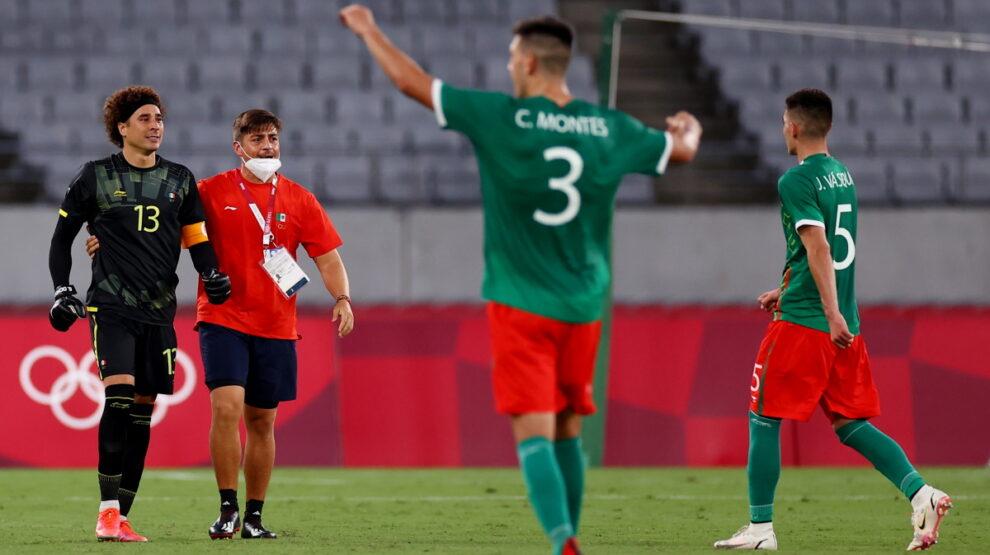 Мексика - Франция Олимпиада футбол