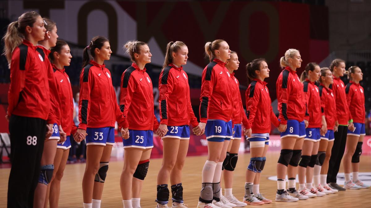 Гандболистки сборной России. Фото: Rеuters
