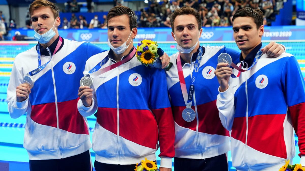 Сборная России вновь - вице-чемпионы Олимпиады в эстафете 4 по 200 метров вольным стилем. Фото: Reuters
