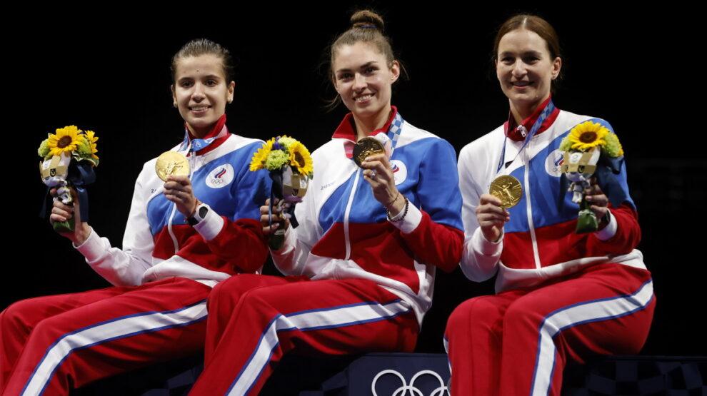 Фехтование - сабля - Россия - женщины