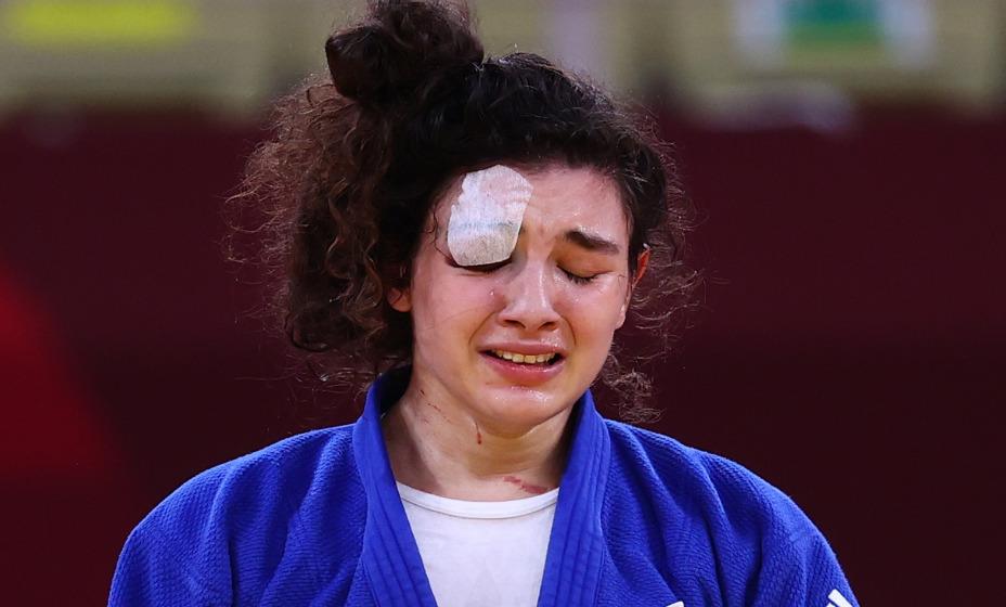 Дзюдоистка Мадина Таймазова вырвала бронзовую медаль на Играх-2020. Фото: Reuters