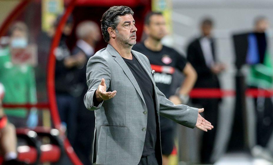Руй Витория заявил, что он не детский тренер, а привык работать с профессионалами. Фото: Global Look Press