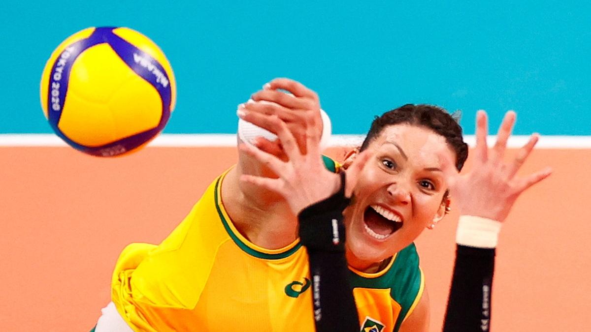 Бразильская волейболистка Тандара. Фото: REUTERS