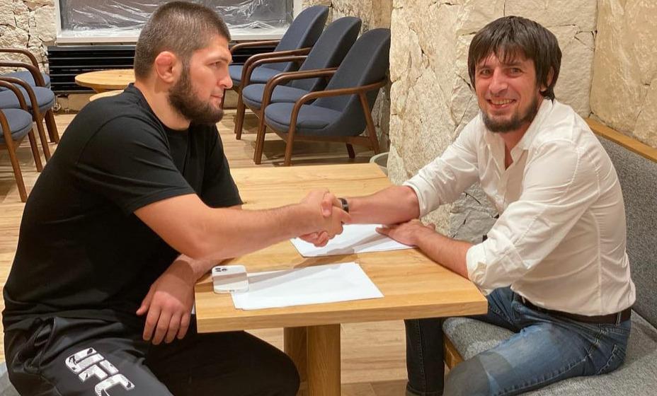 Экс-чемпион UFC Хабиб Нурмагомедов сыграет в футбол, он подписал контракт с «Легион Динамо». Фото: Инстаграм «Легион Динамо»
