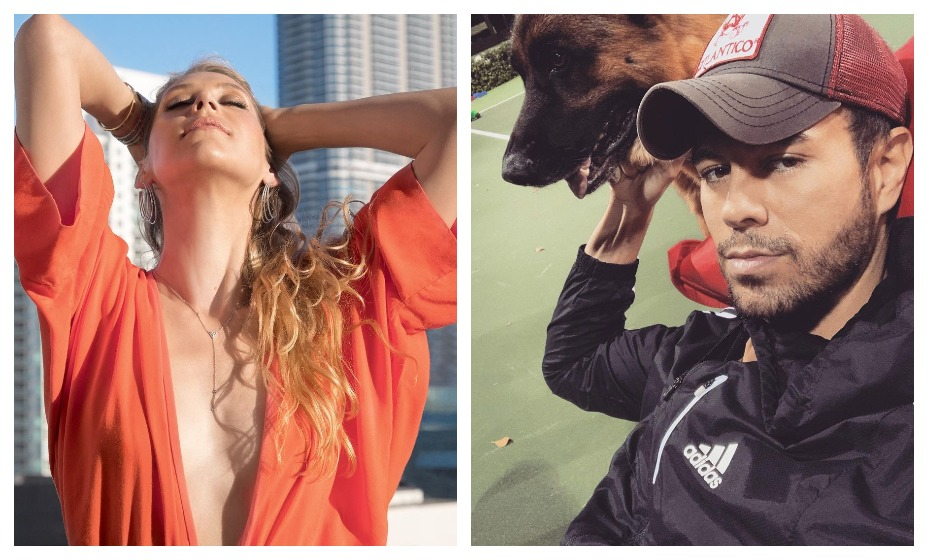 Анна Курникова и Энрике Иглесиас показали подросших детей. Фото: Instagram Курниковой и Иглесиаса