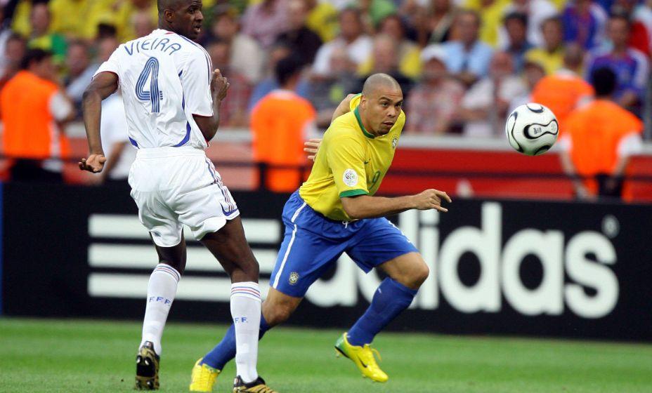 Бразильский нападающий Роналдо за свою национальную сборную забил 62 мяча в 98 матчах. Фото: Global Look Press